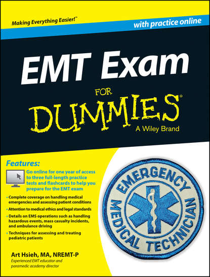 Фото - Arthur Hsieh EMT Exam For Dummies with Online Practice gold bracelet with sapphires and diamonds sunlight test 585