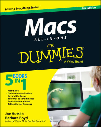 Joe Hutsko Macs All-in-One For Dummies недорого
