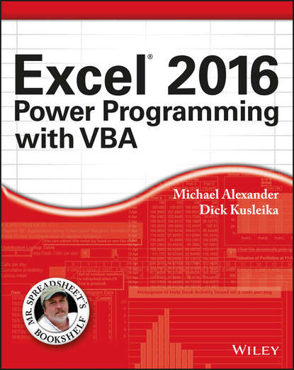 alan simpson access 2007 vba programming for dummies Michael Alexander Excel 2016 Power Programming with VBA