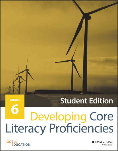 Odell Education Developing Core Literacy Proficiencies, Grade 6 odell education developing core literacy proficiencies grade 10 isbn 9781119193043