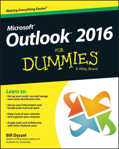 цена на Bill Dyszel Outlook 2016 For Dummies