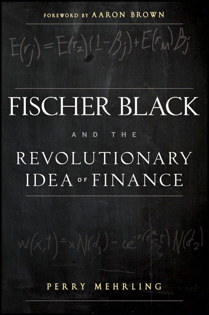 Aaron Brown Fischer Black and the Revolutionary Idea of Finance the genius book i youth