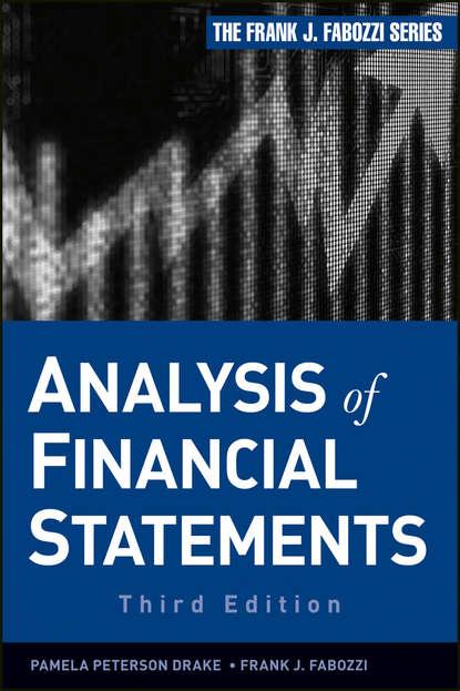 Фото - Frank J. Fabozzi Analysis of Financial Statements willi brammertz unified financial analysis