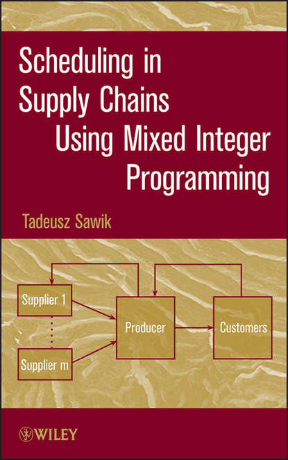 Tadeusz Sawik Scheduling in Supply Chains Using Mixed Integer Programming personnel scheduling of cleaning workforces in hospitals