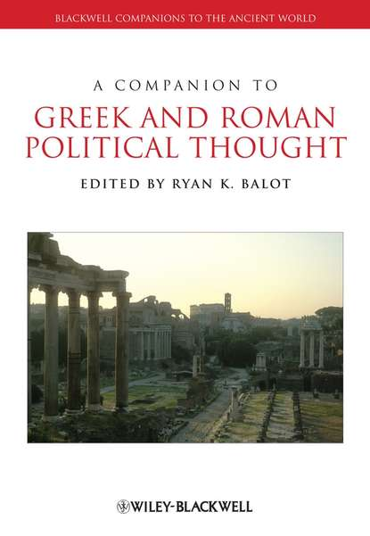 Ryan Balot K. A Companion to Greek and Roman Political Thought verbal periphrasis in ancient greek