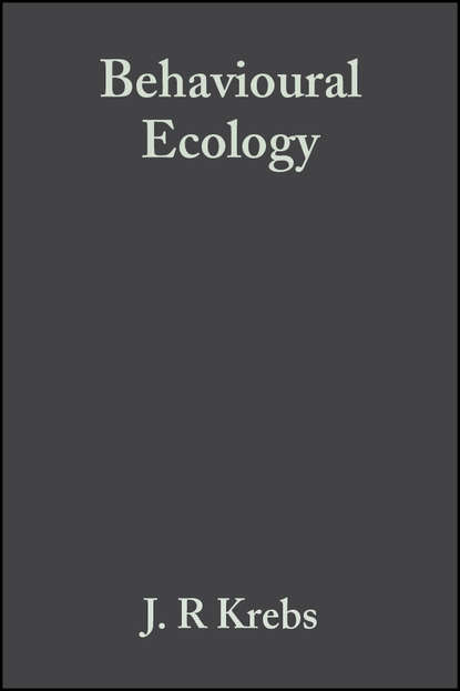 Krebs John R. Behavioural Ecology. An Evolutionary Approach behavioural ecology of the sunda colugo