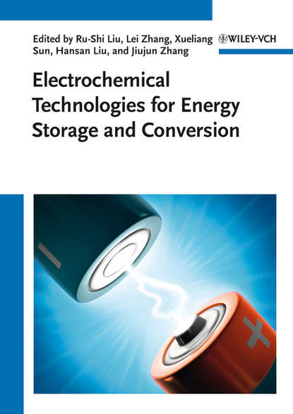 Группа авторов Electrochemical Technologies for Energy Storage and Conversion, 2 Volume Set nanocatalysts for improved solar energy conversion efficiency in dsscs