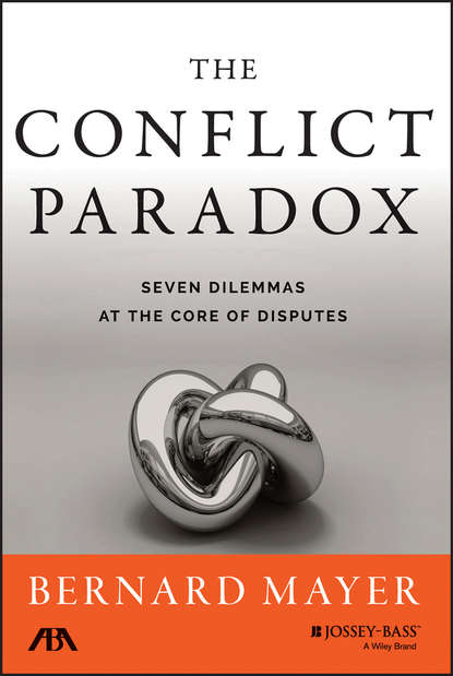 Bernard S. Mayer The Conflict Paradox intergroup contact and post conflict community reconciliation