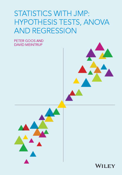 Peter Goos Statistics with JMP: Hypothesis Tests, ANOVA and Regression peter c bruce introductory statistics and analytics
