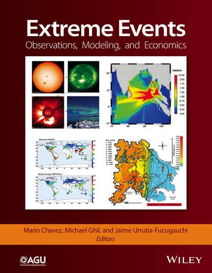 Mario Chavez Extreme Events. Observations, Modeling, and Economics a monograph about the drops in economic soil