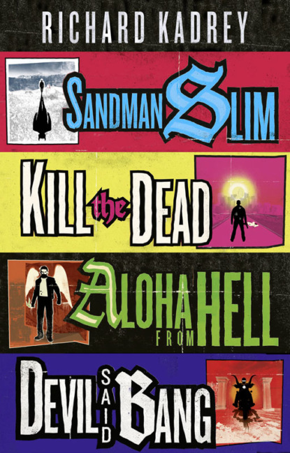 Фото - Richard Kadrey The Sandman Slim Series Books 1-4 уильям блейк the marriage of heaven and hell