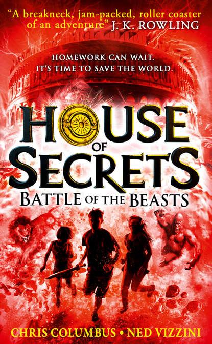 Ned Vizzini Battle of the Beasts columbus c vizzini n rylander c house of secrets clash of the worlds