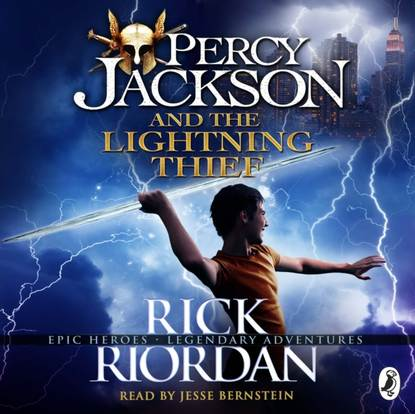 Rick Riordan Percy Jackson and the Lightning Thief (Book 1 of Percy Jackson) jackson jones and the puddle of thorns