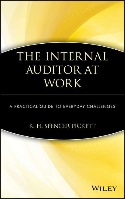 K. H. Spencer Pickett The Internal Auditor at Work insights into the effectiveness of internal audit