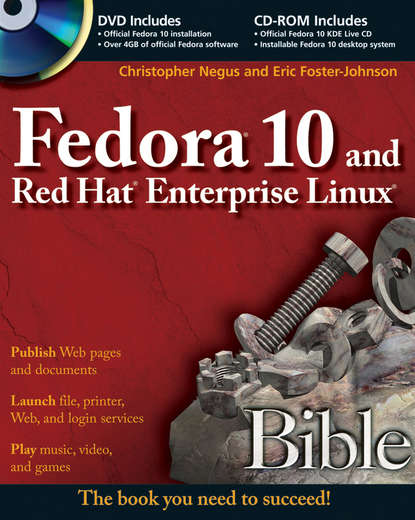 linux® system commands Christopher Negus Fedora 10 and Red Hat Enterprise Linux Bible