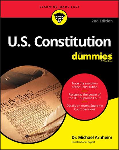 Группа авторов U.S. Constitution For Dummies the delaware state constitution