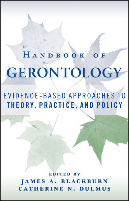 Catherine N. Dulmus Handbook of Gerontology psychotherapy for depression in older adults