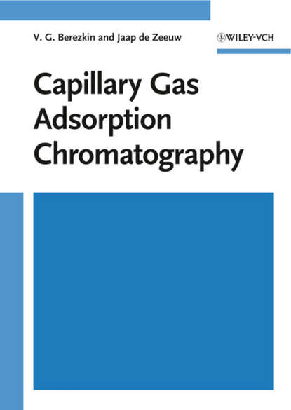 Jaap Zeeuw de Capillary Gas Adsorption Chromatography adsorption