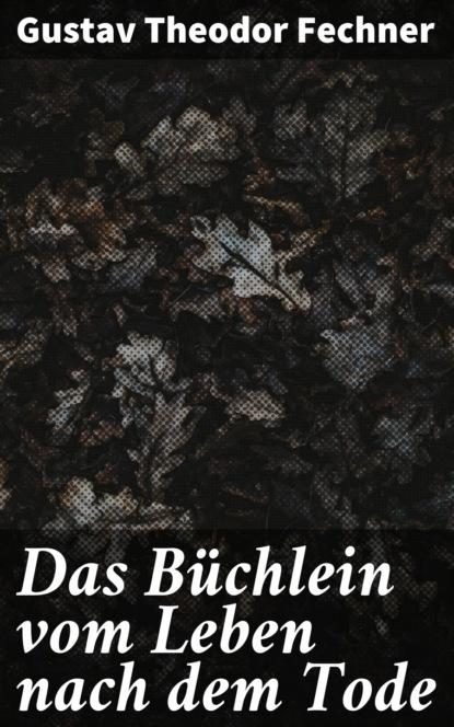 Фото - Gustav Theodor Fechner Das Büchlein vom Leben nach dem Tode gustav scharlach vom jungen bismarck
