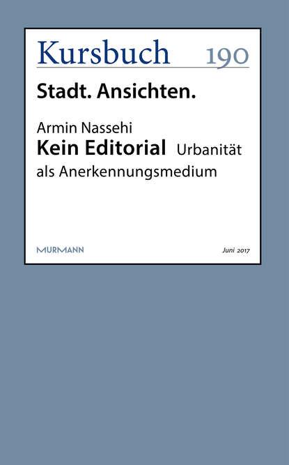 Armin Nassehi Kein Editorial lieselore warmeling kein zuckerschlecken 3