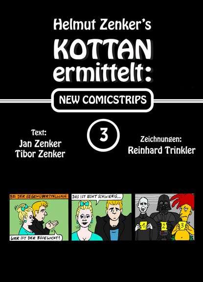 Фото - Helmut Zenker Kottan ermittelt: New Comicstrips 3 helmut zenker kottan ermittelt new comicstrips 1