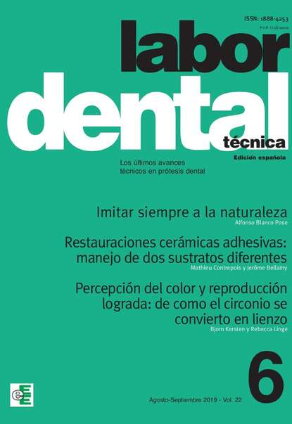 sep Varios autores Labor Dental Técnica Vol.22 Ago-Sep 2019 nº6