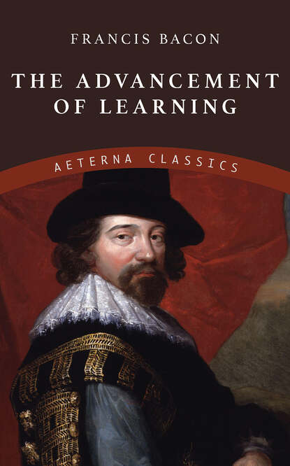 Francis Bacon The Advancement of Learning francis bacon neues organon