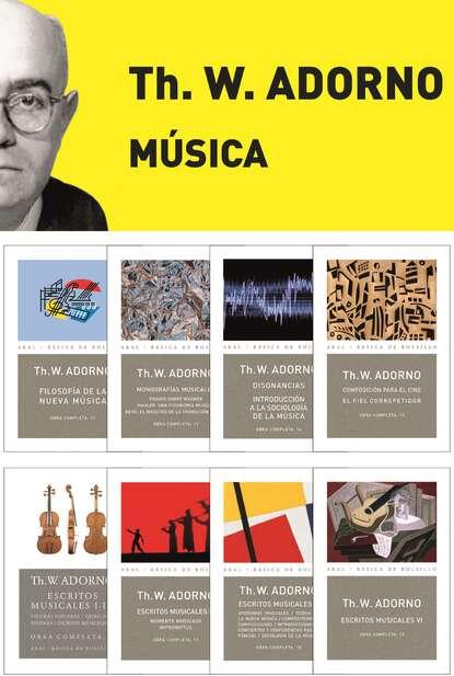 Theodor W. Adorno Pack Adorno I. Música theodor w adorno gustav mahler una fisionomía musical monografías musicales