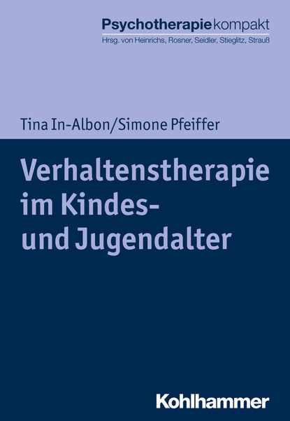 Tina In-Albon Verhaltenstherapie im Kindes- und Jugendalter wirtschafts und bevolkerungsstatistik