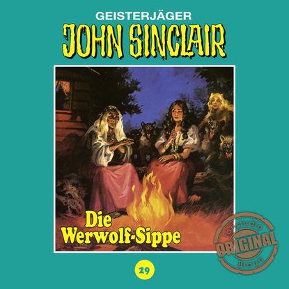 Jason Dark John Sinclair, Tonstudio Braun, Folge 29: Die Werwolf-Sippe. Teil 1 von 2 jason dark john sinclair tonstudio braun folge 24 im land des vampirs teil 1 von 3