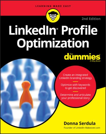 Donna Serdula LinkedIn Profile Optimization For Dummies donna serdula linkedin profile optimization for dummies