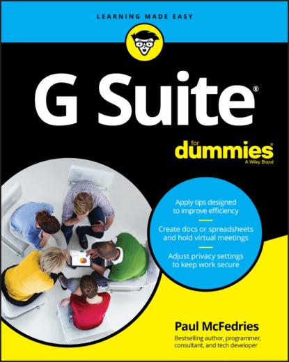 Paul McFedries G Suite For Dummies chris dannen google voice for dummies