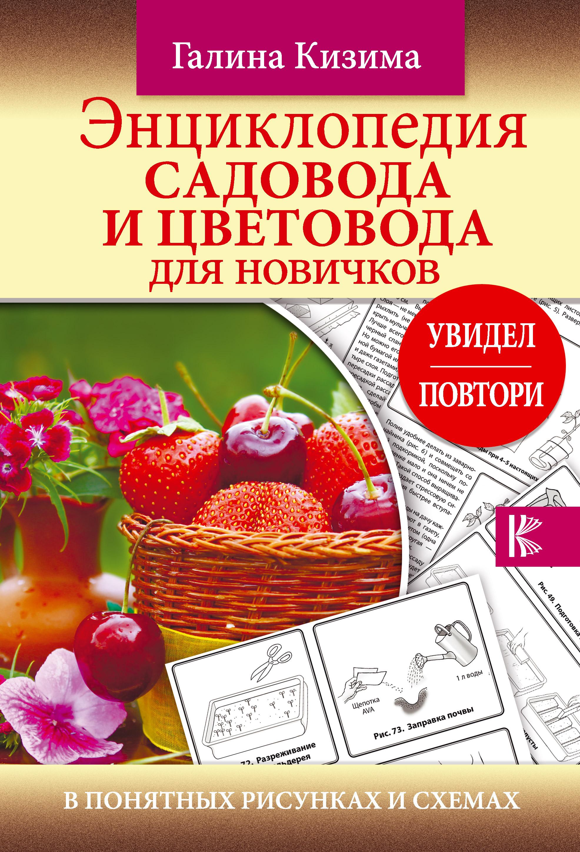 Энциклопедия садовода и цветовода для новичков в понятных рисунках и схемах. Увидел – повтори