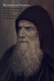 Великий еси Господи… Жизнь и проповедь святого Гавриила Ургебадзе, исповедника и юродивого