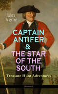 CAPTAIN ANTIFER & THE STAR OF THE SOUTH – Treasure Hunt Adventures (Illustrated)