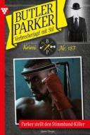 Butler Parker 187 – Kriminalroman
