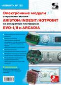 Электронные модули стиральных машин INDESIT\/ARISTON\/HOTPOINT на аппаратных платформах EVO-I\/II, ARCADIA