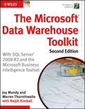 The Microsoft Data Warehouse Toolkit. With SQL Server 2008 R2 and the Microsoft Business Intelligence Toolset