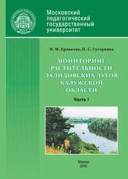 Мониторинг растительности Залидовских лугов Калужской области. Часть 1