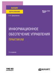 Информационное обеспечение управления. Практикум 2-е изд. Учебное пособие для вузов