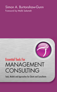 Essential Tools for Management Consulting. Tools, Models and Approaches for Clients and Consultants