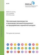 Организация производства и производственный менеджмент на предприятиях черной металлургии