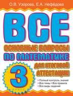 Все основные вопросы по математике для итоговой аттестации. 3 класс