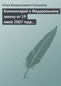 Комментарий к Федеральному закону от 19 июля 2007 года № 139-ФЗ «О российской корпорации нанотехнологий»