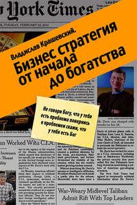 Купить книгу Бизнес-стратегия от начала до богатства, автора Владислава Крашевского
