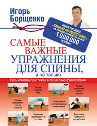 Купить книгу Самые важные упражнения для спины, и не только, автора Игоря Борщенко