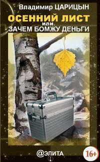 Купить книгу Осенний лист, или Зачем бомжу деньги, автора Владимира Царицына