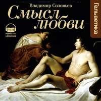 Книга Смысл любви - Автор Владимир Соловьев