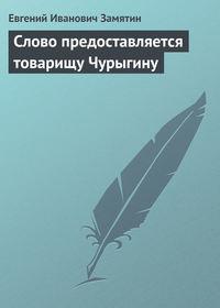 Книга Слово предоставляется товарищу Чурыгину