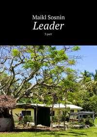 Книга Leader. 3 part - Автор Maikl Sosnin